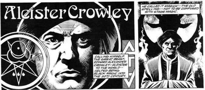 Komiksowa historia Aleistera Crowleya