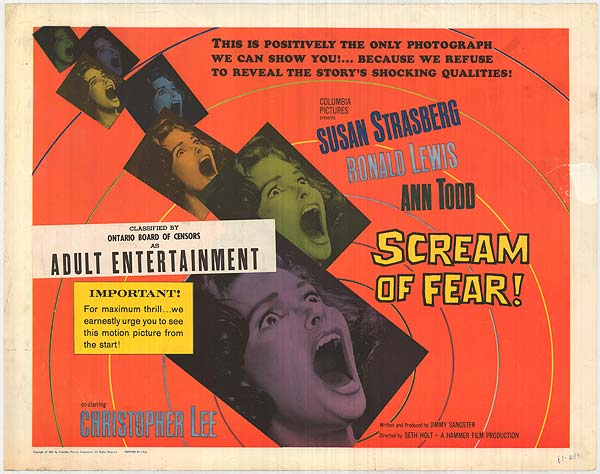 scream_of_fear_1961_poster