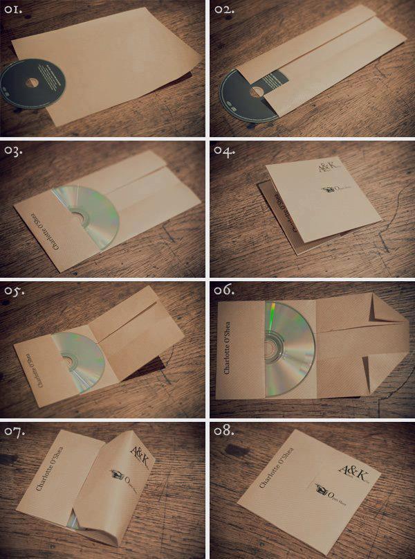 Jak zrobić papierowe opakowanie na CD?