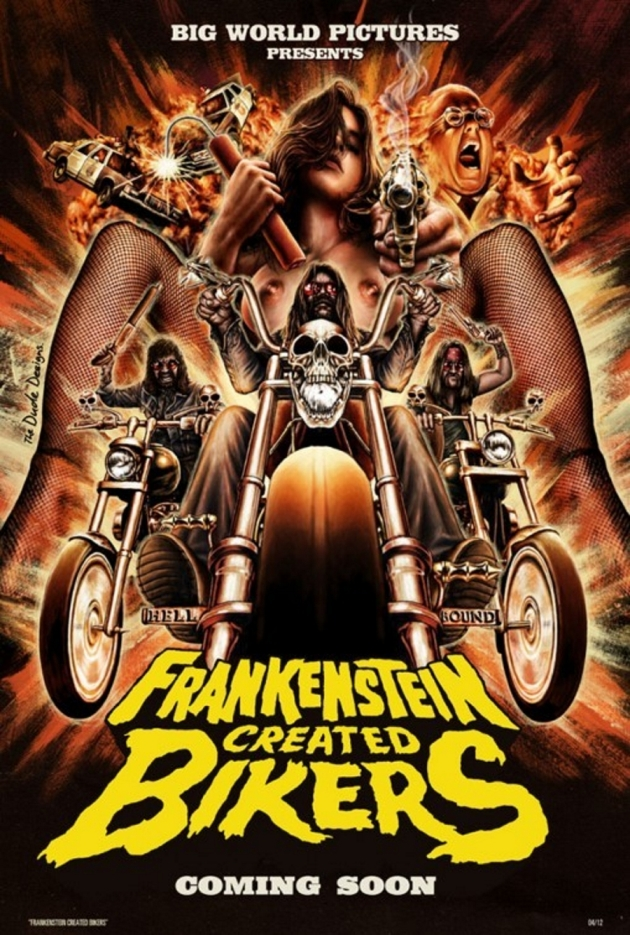 "Teaser ""Frankenstein Created Bikers"" – nowego filmu Jamesa Bickerta"