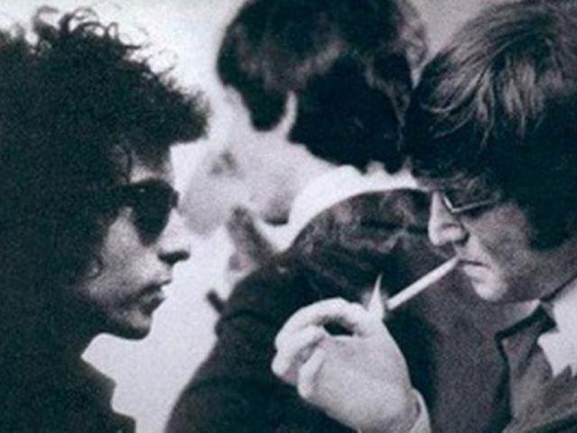 Taksówkowa rozmowa Johna Lennona i Boba Dylana
