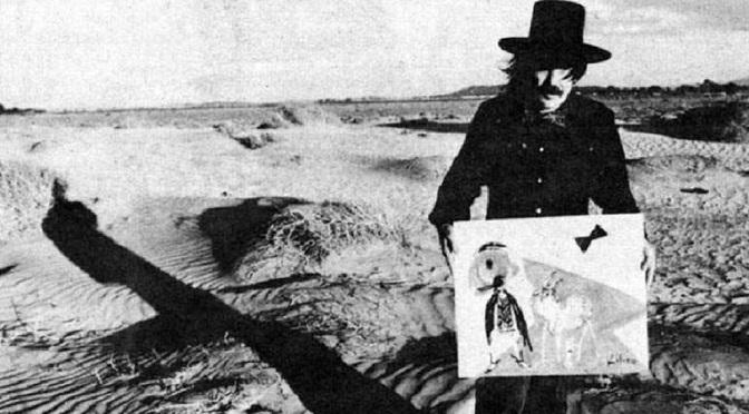 Abstrakcjonistyczne obrazy Kapitana Wołowe Serce