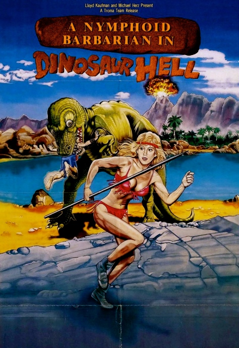 A-Nymphoid-Barbarian-in-Dinosaur-Hell-poster