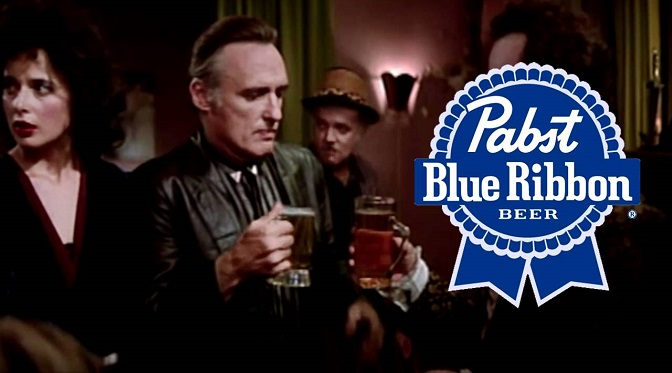 Frank Booth woli Pabst Blue Ribbon!