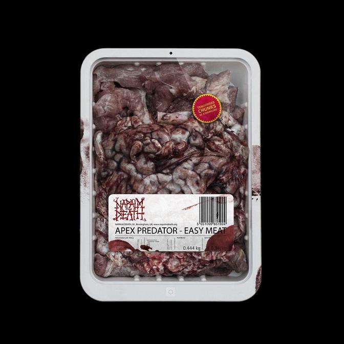 Napalm Death – Apex Predator – Easy Meat (2015)