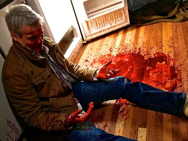 "Henry Rollins jako kanibal w ""He Never Died"""