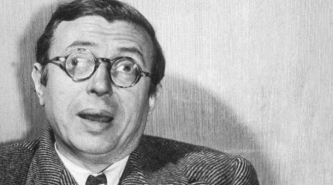 Jean-Paul Sartre i meskalina