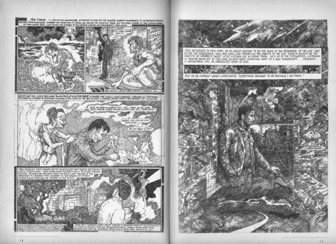 """Visions of Paradise"": bardzo rzadki komiks o Beat Generation!"