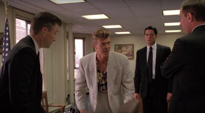 """David Bowie zaliczył przedziwne cameo w """"Twin Peaks: Ogniu krocz ze mną"""""""