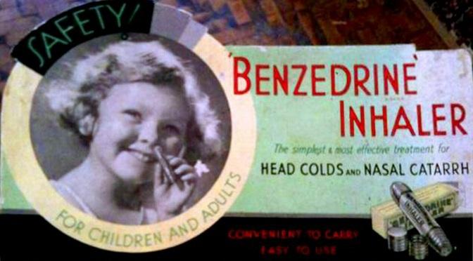 Kiedy amfetaminy były hitem dnia… reklamowano je w zasadzie wszędzie!
