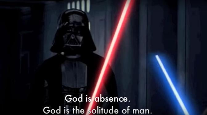 """""""Egzystencjalne gwiezdne wojny"""", czyli Darth Vader cytuje Sartre'a!"""