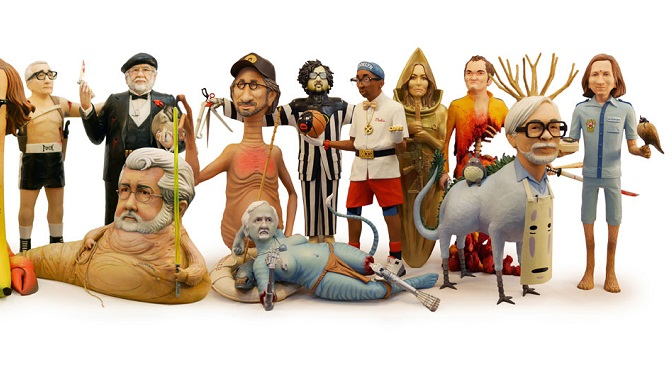 """""""King Cuts"""": Odlotowe figurki wybitnych reżyserów Mike'a Leavitta"""