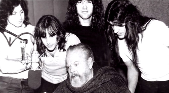 Gdy Orson Welles nagrywał z Manowar