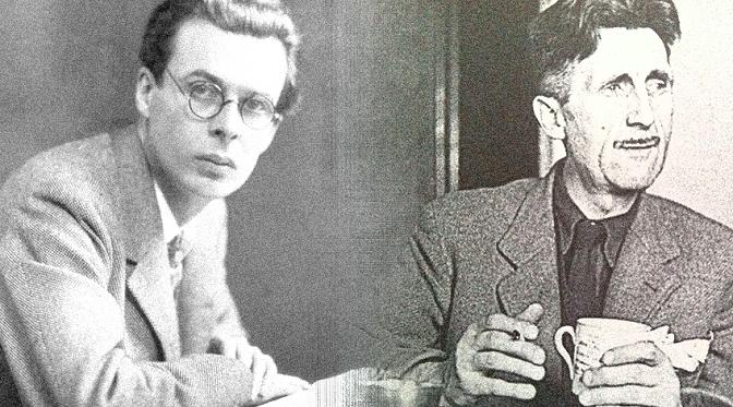 """Aldous Huxley w liście do George'a Orwella: """"Narko-hipnoza jest bardziej wydajna"""""""