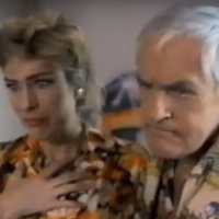 "Timothy Leary i Mary Woronov w ""Possessed to Skate""!"