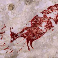 Liczący 44 tys. lat malunek odnaleziono w indonezyjskiej jaskini Maros-Pangkep!
